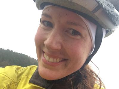 Christine sykler