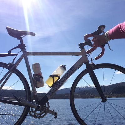 christine 3 sykkel i sol
